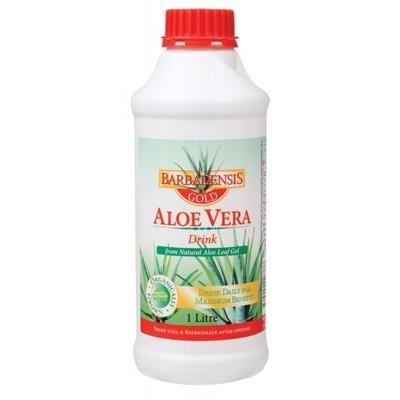 barbadensis gold aloe vera juice 1l. Black Bedroom Furniture Sets. Home Design Ideas