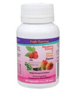 EAGLE SUPREME Raspberry Ketones & African Mango Caps 60