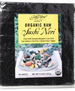 GOLD MINE Raw Sushi Nori 125g