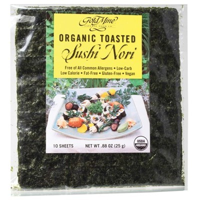 GOLD MINE Toasted Sushi Nori 25g