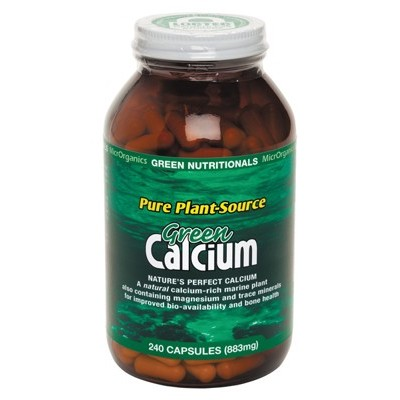 GREEN NUTRITIONALS Green Calcium Capsules 240 Caps
