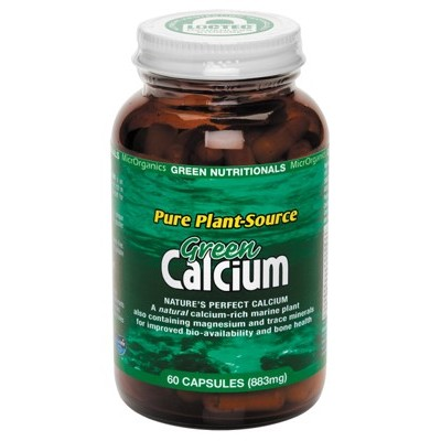 GREEN NUTRITIONALS Green Calcium Capsules 60 Caps