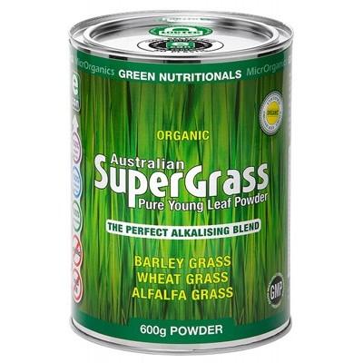 Green Nutritionals Australian Supergrass Powder 600g