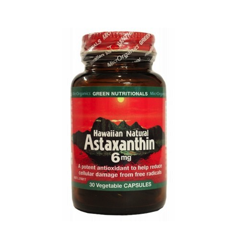 Green Nutritionals Hawaiian Astaxanthin Vegecaps 30
