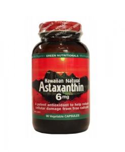 Green Nutritionals Hawaiian Astaxanthin Vegecaps 90