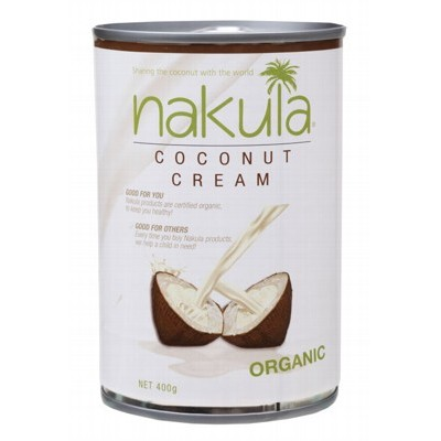NAKULA Coconut Milk Carton 12x400g