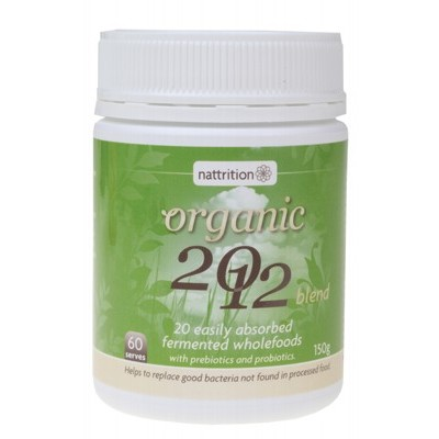 NATTRITION Organic 2012 Powder 150g