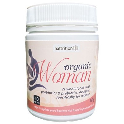NATTRITION Organic Woman 150g