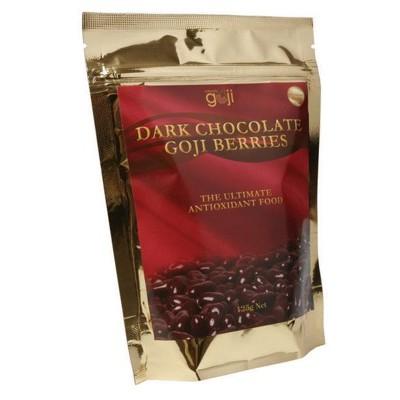 NATURALLY GOJI Dark Choc Goji Berries 125g