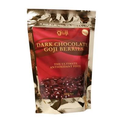 NATURALLY GOJI Dark Choc Goji Berries 300g