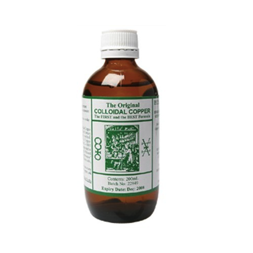 Original Colloidal Copper 200ml