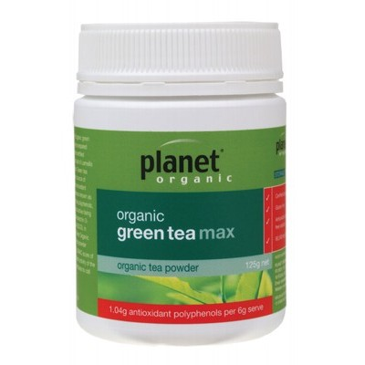 PLANET ORGANIC Green Tea Max 125g