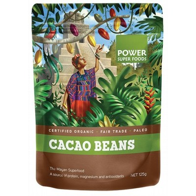 POWER SUPER FOODS Cacao Beans 125g