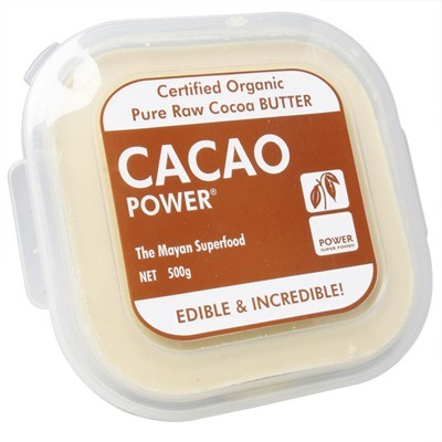 POWER SUPER FOODS Cacao Butter 500g