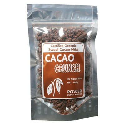 POWER SUPER FOODS Cacao Crunch Nibs 100g