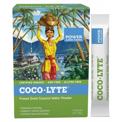 POWER SUPER FOODS Coconut Water Powder Sachets 15x11g