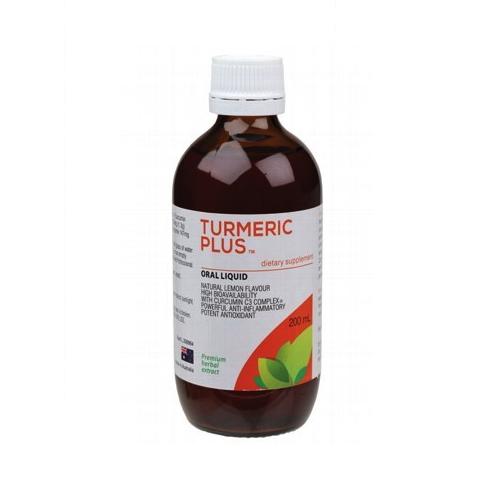 Pure Food Essentials Tumeric Plus 200ml