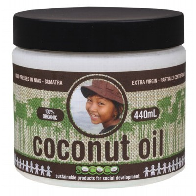 SOCOCO Coconut Oil 440ml