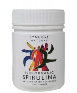 SYNERGY ORGANIC Spirulina Powder 100g