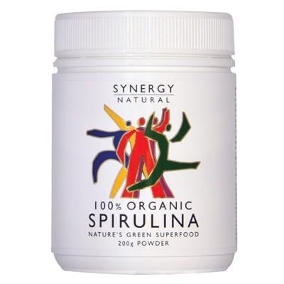 SYNERGY ORGANIC Spirulina Powder 200g