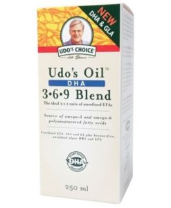 UDO'S CHOICE DHA Oil Blend 250ml