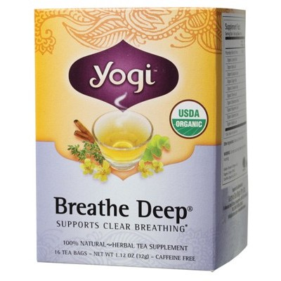 YOGI TEA Herbal Tea Bags Breathe Deep