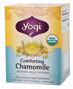 YOGI TEA Herbal Tea Bags Comforting Chamomile