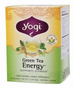 YOGI TEA Herbal Tea Bags Green Tea Energy