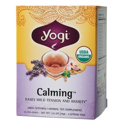 YOGI TEA Herbal Tea Bags Calming