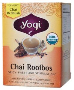 YOGI TEA Herbal Tea Bags Chai Rooibos