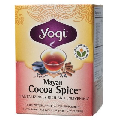 YOGI TEA Herbal Tea Bags Cocoa Spice
