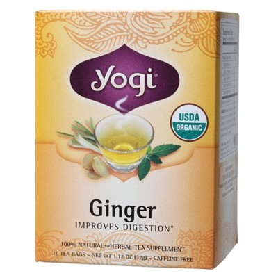YOGI TEA Herbal Tea Bags Ginger