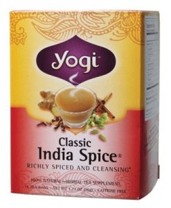 YOGI TEA Herbal Tea Bags India Spice