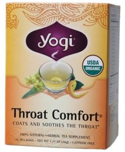 YOGI TEA Herbal Tea Bags Throat Comfort