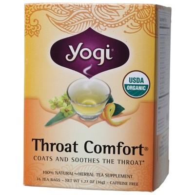 YOGI TEA Herbal Tea Bags Throat Comfort