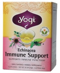 YOGI TEA Herbal Tea Bags Echinacea Immune Support