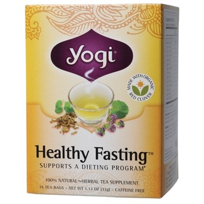 YOGI TEA Herbal Tea Bags Healthy Fasting