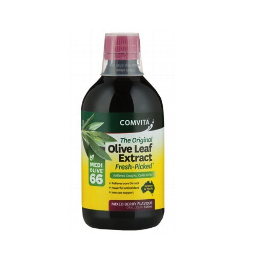 Comvita Natural Olive Leaf Extract Berry 500ml
