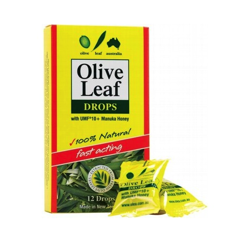Comvita Natural Olive Leaf Drops 12pk