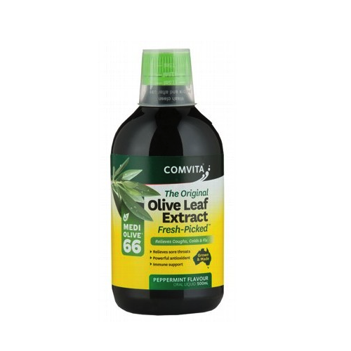 Comvita Natural Olive Leaf Extract Peppermint 500ml
