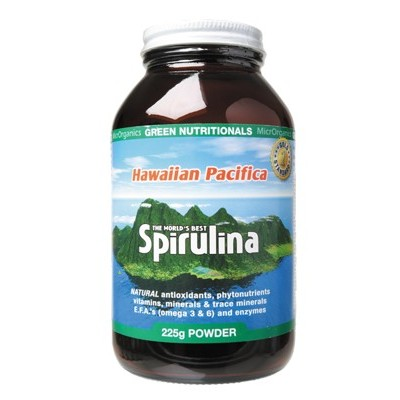 GREEN NUTRITIONALS Spirulina Powder 225g