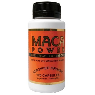 POWER SUPER FOODS Maca Capsules 120 caps