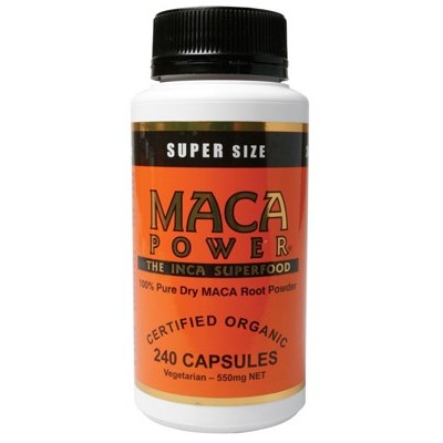 POWER SUPER FOODS Maca Capsules 240 caps
