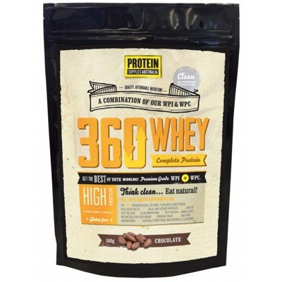 PROTEIN SUPPLIES AUST. Vanilla Whey Isolate 500g