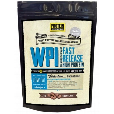 PROTEIN SUPPLIES AUST. Chocolate Whey Isolate 1kg