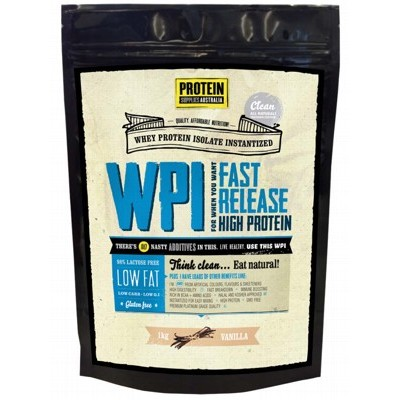 PROTEIN SUPPLIES AUST. Vanilla Whey Isolate 1kg