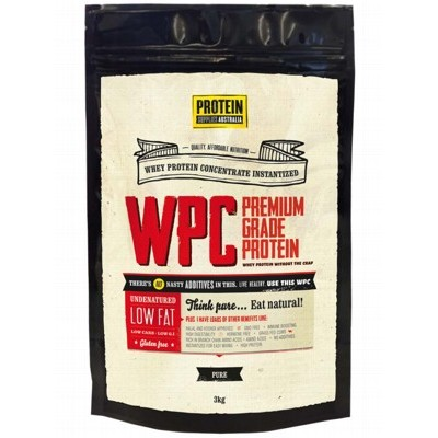 PROTEIN SUPPLIES AUST. Whey Protein Concentrate 3kg