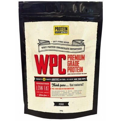 PROTEIN SUPPLIES AUST. Whey Protein Concentrate 500g