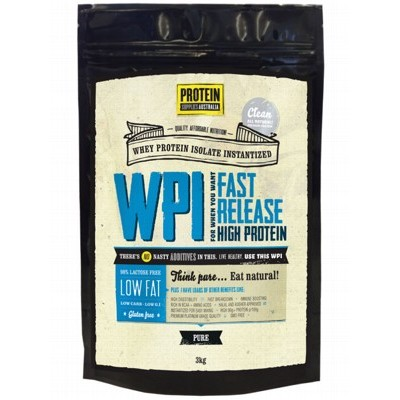 PROTEIN SUPPLIES AUST. Whey Protein Isolate 3kg