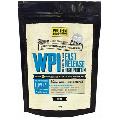 PROTEIN SUPPLIES AUST. Whey Protein Isolate 500g